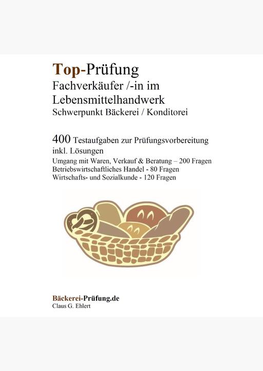 Ehlert, Claus-Günter - Top-Prüfung Fachverkäufer/in im Lebensmittelhandwe