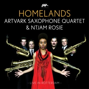 ARTVARK SAXOPHONE QUARTET FT. NTJAM ROSIE - HOMELANDS