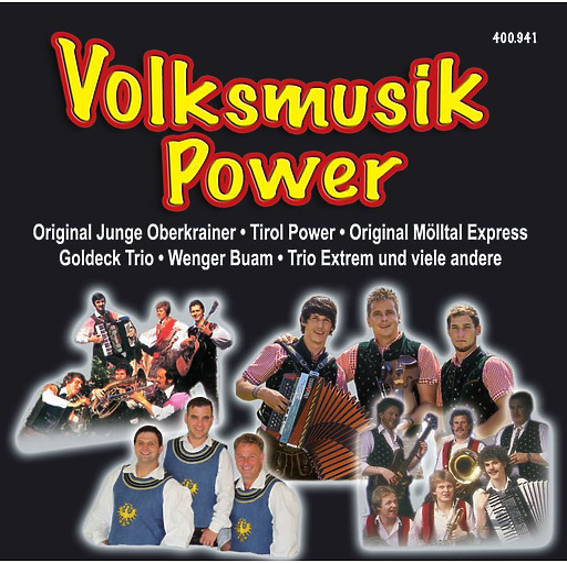 Various Artists - Various Artists - Volksmusik Power