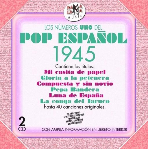 Various Artists - Various Artists - Los numeros uno del pop espanol 1945