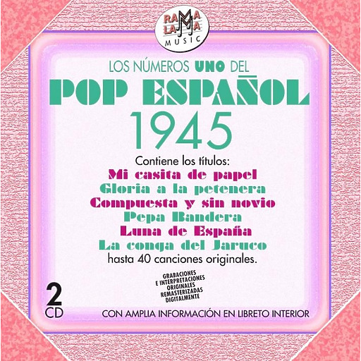 Various Artists - Los numeros uno del pop espanol 1945