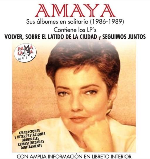 Amaya - Sus albumes en solitario (1986-1989)