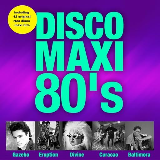 Various Artists - Various Artists - Disco Maxi 80's Vol. 1