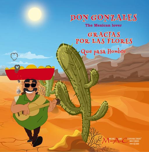 Don Gonzales - Don Gonzales - Gracias por las Flores