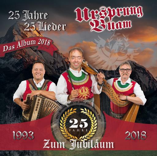 Ursprung Buam - 25 Jahre - 25 Lieder LP