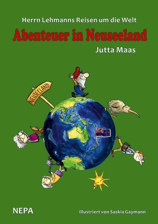 Maas, Jutta / Gaymann, Saskia - Maas, Jutta / Gaymann, Saskia - Herrn Lehmanns Reisen um die Welt (Hardcover)