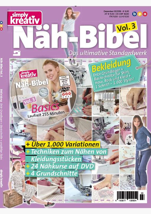 Buss, Oliver - Näh-Bibel, Vol. 3