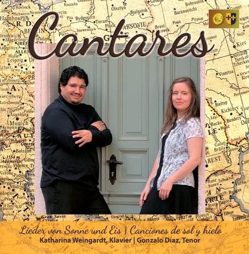 Gonzalo Diaz & Katharina Weingardt - Gonzalo Diaz & Katharina Weingardt - Cantares - Lieder von Sonne und Eis