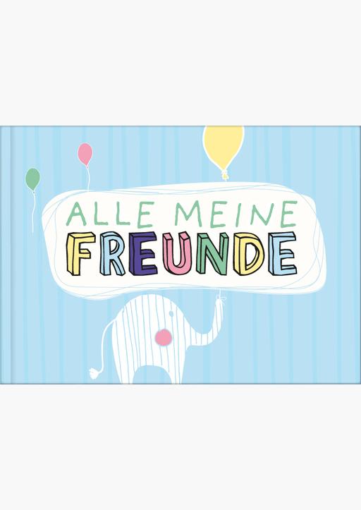 Lisa Wirth - Freundebuch Din A5 für Mädchen und Jungen