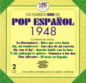 Various Artists - Various Artists - los numero 1 del pop español 1948
