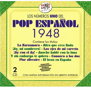 Various Artists - los numero 1 del pop español 1948