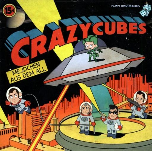 Crazy Cubes - Rockabilly - Mejdchen aus dem All