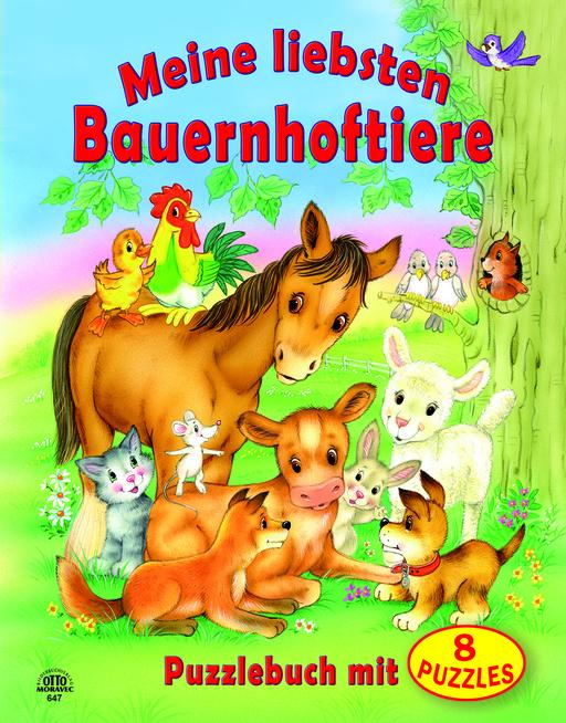 Bilderbuchverlag Otto Moravec - Bilderbuchverlag Otto Moravec - Puzzlebuch