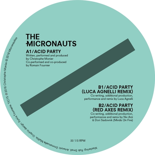 The Micronauts - The Micronauts - Acid Party