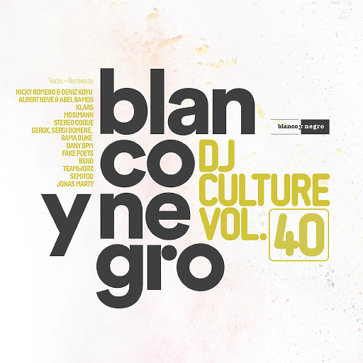 Various Artists - Blanco Y Negro DJ Culture Vol. 40