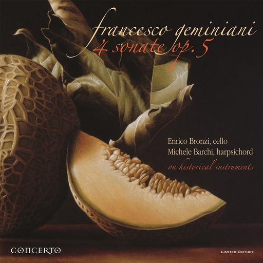 FRANCESCO GREMINIANI - 4 Sonate for cello and basso continuo op.5