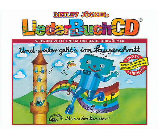 Jöcker, Detlev / Kleikamp Lore / Lehmkühler Birgit - Und weiter geht's im Sauseschritt - LiederBuchCD