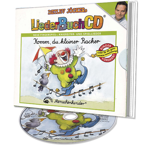 Jöcker, Detlev / Beckers, Heinz / Kunst, Sonny - Komm, du kleiner Racker Liederbuch-CD