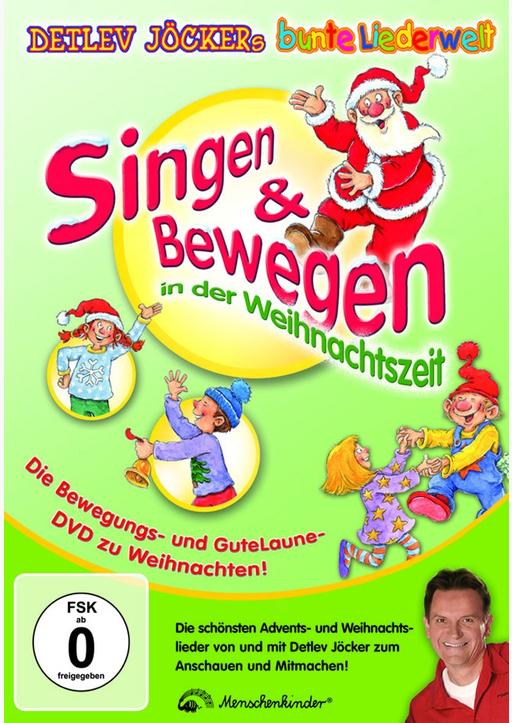 Jöcker, Detlev - Singen & Bewegen in der Weihnachtszeit