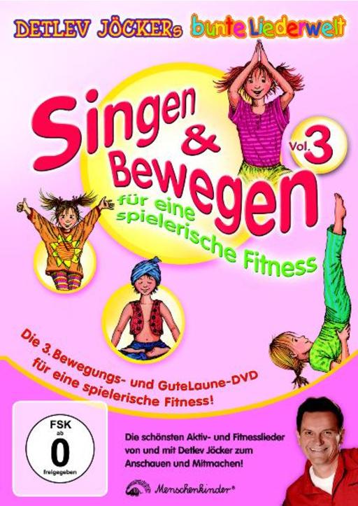 Jöcker, Detlev / Jöcker, Peter - Singen & Bewegen Vol. 3 DVD