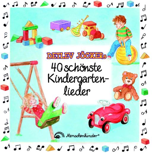 Jöcker, Detlev - Detlev Jöckers 40 schönste Kindergartenlieder