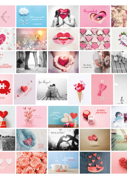 Heisenberg, Sophie - Postkarten Hochzeit 52 Wochen