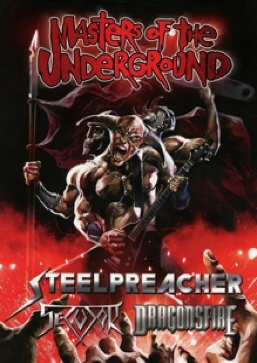 Steelpreacher / Dragonsfire / Secutor - Masters Of The Underground - Live DVD