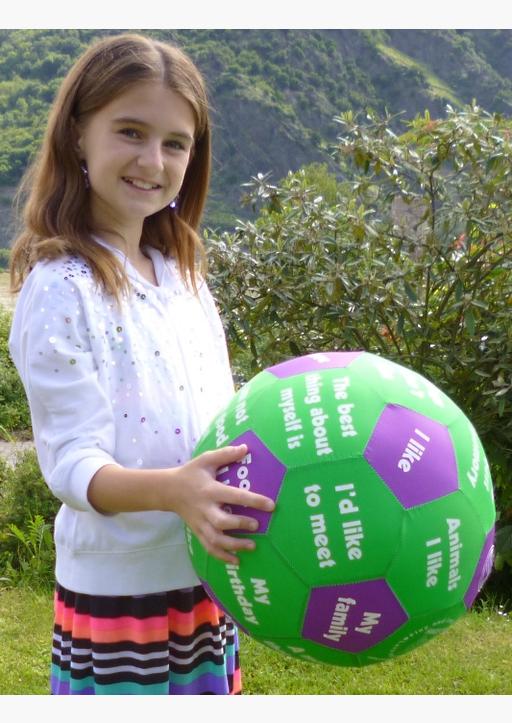 Stubenrauch, Bernhard - HANDS ON Lernspielball - Icebreaker Ball (Englisch