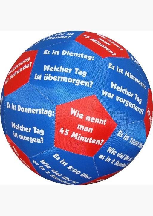 Stubenrauch, Bernhard - HANDS ON Lernspielball - Zeit und Uhrzeit