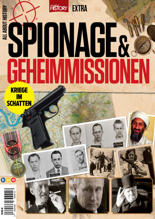 Buss, Oliver - All About History EXTRA - Spionage & Geheimmission
