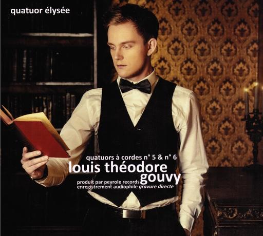 Quatuor Elysée - Quatuor Elysée - Louis Théodore Gouvy - Quatuors à cordes n° 5 & n°
