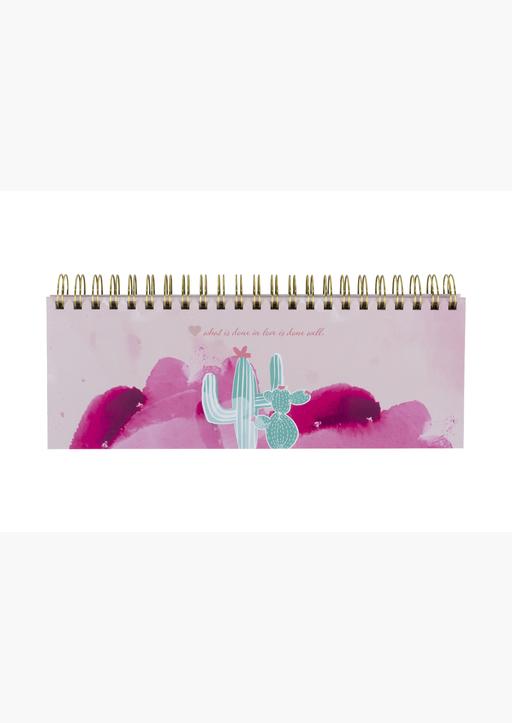 Lisa Wirth - Tischkalender Alpaka u. Kaktus / Querkalender