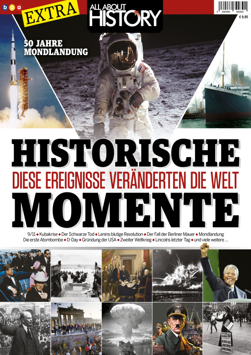 Buss, Oliver - All About History EXTRA - HISTORISCHE MOMENTE
