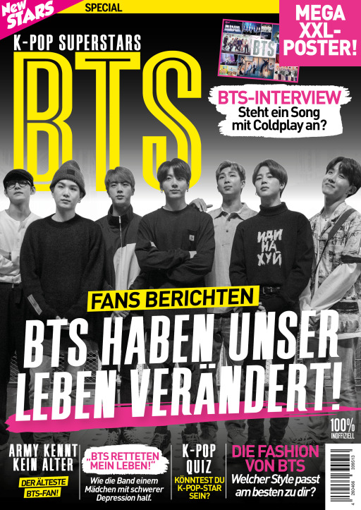 Buss, Oliver - New Stars Special: K-POP SUPERSTARS BTS