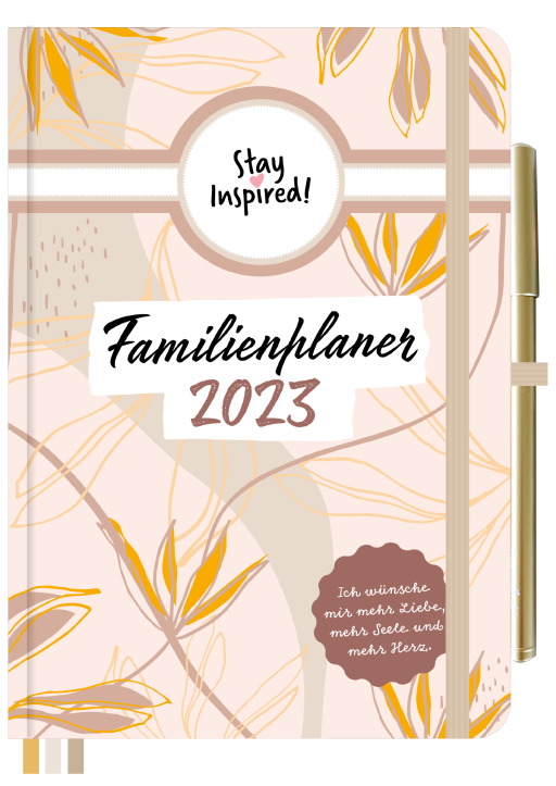 Lisa Wirth - Familienplaner 2021 Hardcover  - DIN A5