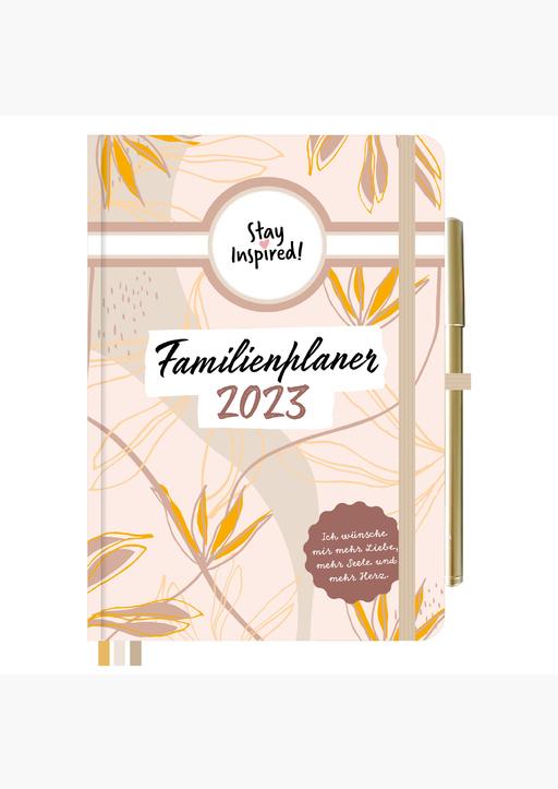 Lisa Wirth - Familienplaner 2022 Hardcover Basic