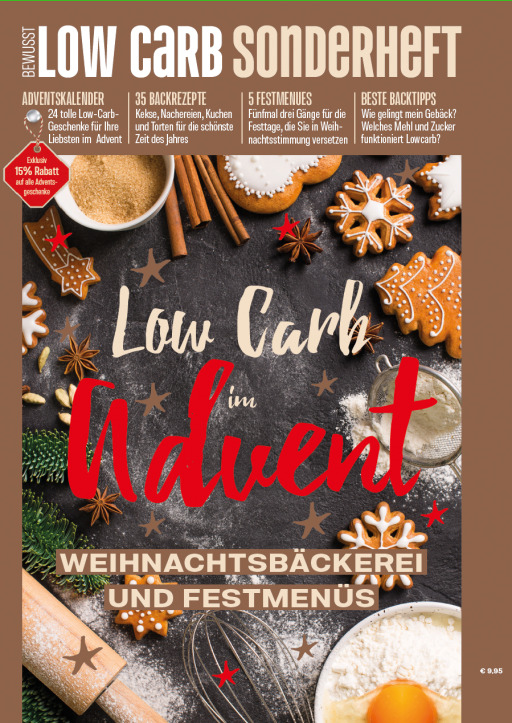 Buss, Oliver - Bewusst Low Carb Sonderheft - Low Carb im Advent