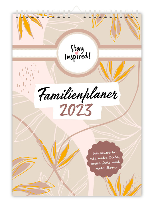 Lisa Wirth - Wand-Familienplaner 2021 | Wandkalender DIN A3