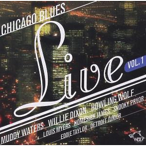 Muddy Dixon, Willie Waters, Homesick James, Detroi - Chicago Blues Live Vol. 1
