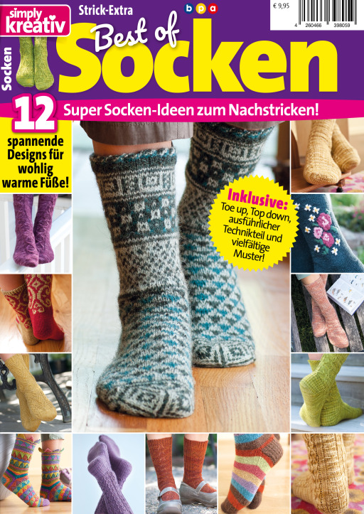 Buss, Oliver - Simply kreativ Best of Socken