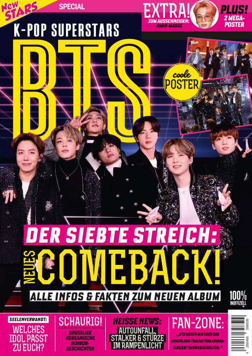 Buss, Oliver - New Stars Special K-Pop Superstars BTS - DER SIEBT