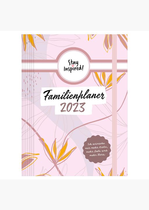 Lisa Wirth - XXL Familienplaner 2022  Hardcover  - 16,5 x 24