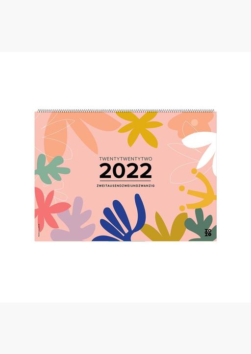 "XOXO Arte; Garschhammer, Anja - Wandkalender ""Good Vibes!"" 2022"