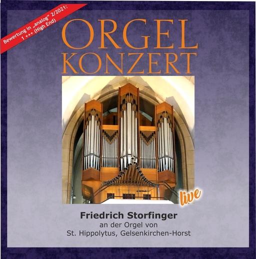 Friedrich Storfinger - Orgel-Konzert Bach . Carvalho . Widor