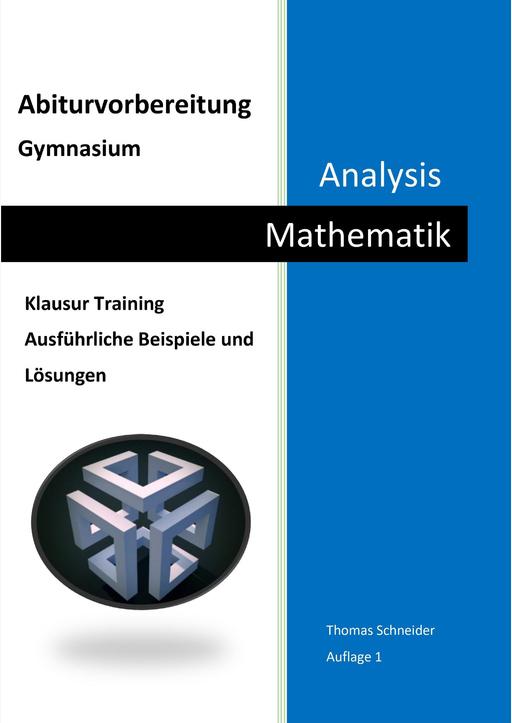 Schneider, Thomas - Abiturvorbereitung Gymnasium Mathematik Analysis